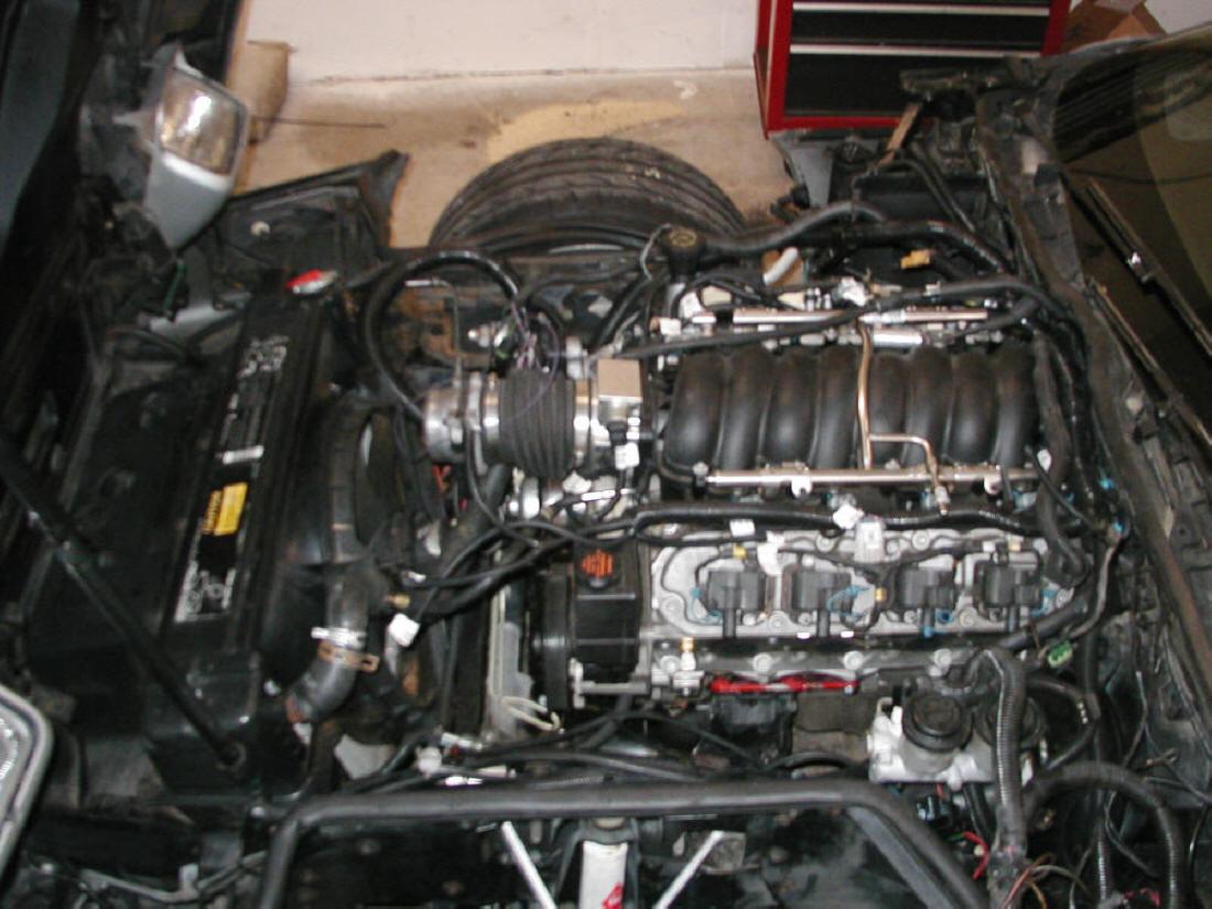 C4 Corvette LS1 conversion